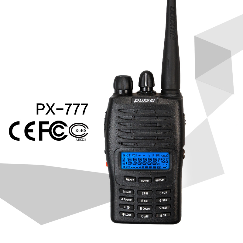 china puxing 777 handheld ham two way radio 30km range