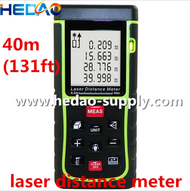 40m 131ft Indoor Outdoor Wire Length Measuring Device Distance Meter Buy Wire Length