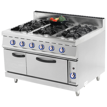 Fgs-96go Commercial Gas Cooking Range With Gas Stove And Oven - Buy Gas  Cooking Range With Oven,Heavy Duty Gas Range,Electric Cooking Range Product  on ...