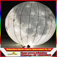 2016 Hot sale giant inflatable moon, inflatable moon ball, moon balloon for events