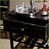 Attractive bottle wine rack/wooden beverage storage unit/HOMEX