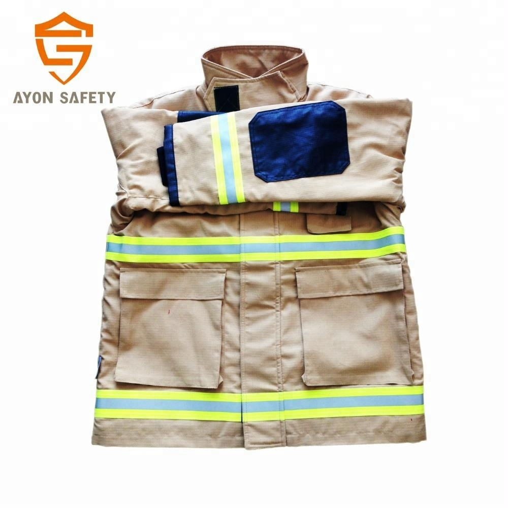 fire safety suit with moisture / thermal barrier, firefighter gear for fire fighting protection