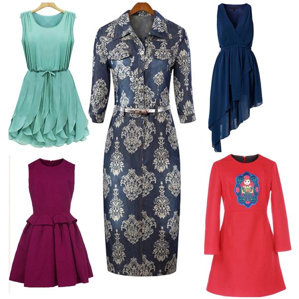 Shenzhen splendid garment export clothes female apparel