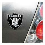 OAKLAND RAIDERS NFL Football Sports Team Chrome Car Truck Motorcycle Graphic Logo Decal Sticker Emblem