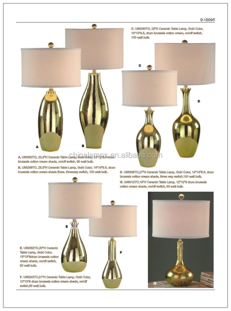 2016 New Design Fashionable Modern Led High Quality Ceramic Table ...