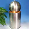 Stainless Steel Cooler Water Feature Sphere Fountain