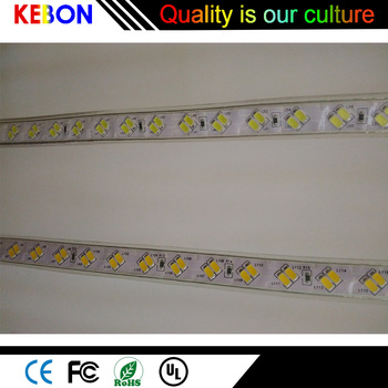 China new product Waterproof 100 Meters Per Roll 110V 220V SMD 5730 LED Strip light