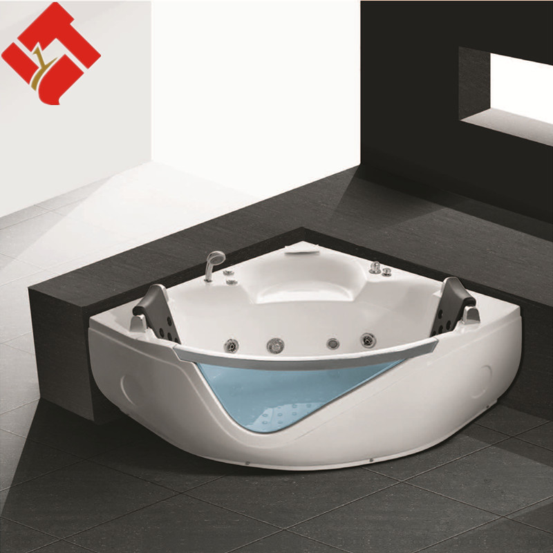 bathroom design two person glass small sitting bathtub