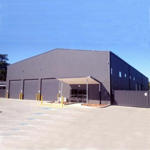 Lost cost industrial shed design prefabricated steel structure warehouse
