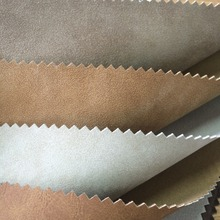 custom finished leather fabric for shoes