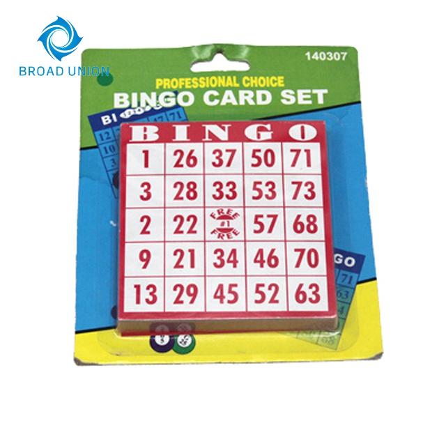 ビンゴ カード 28