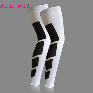 1pc Leg Compression Sleeves Running Basketball Knee Brace Protector Guard Gear