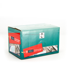 Stationary packaging color printing folding paper box