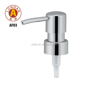 Factory manufacturer custom plastic hand soap bottle cap with pump dispenser