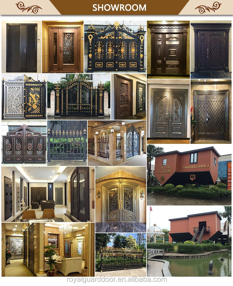 Indian House Main Gate Designs/compound Wall Gate/aluminum Slide Gate