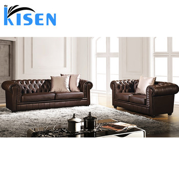 Living Room Furniture Modern Leather Chesterfield Sofa - Buy Leather  Chesterfield Sofa,Germany Living Room Leather Sofa,Modern Leather Sofa  Product on ...