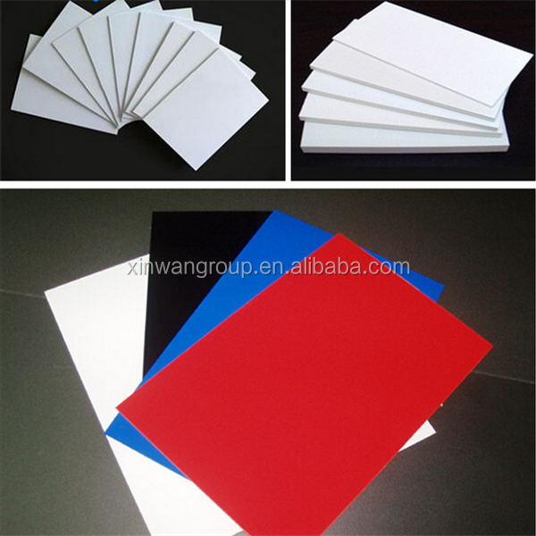pvc panels for industrial engneering /pvc plastic sheet for photo album