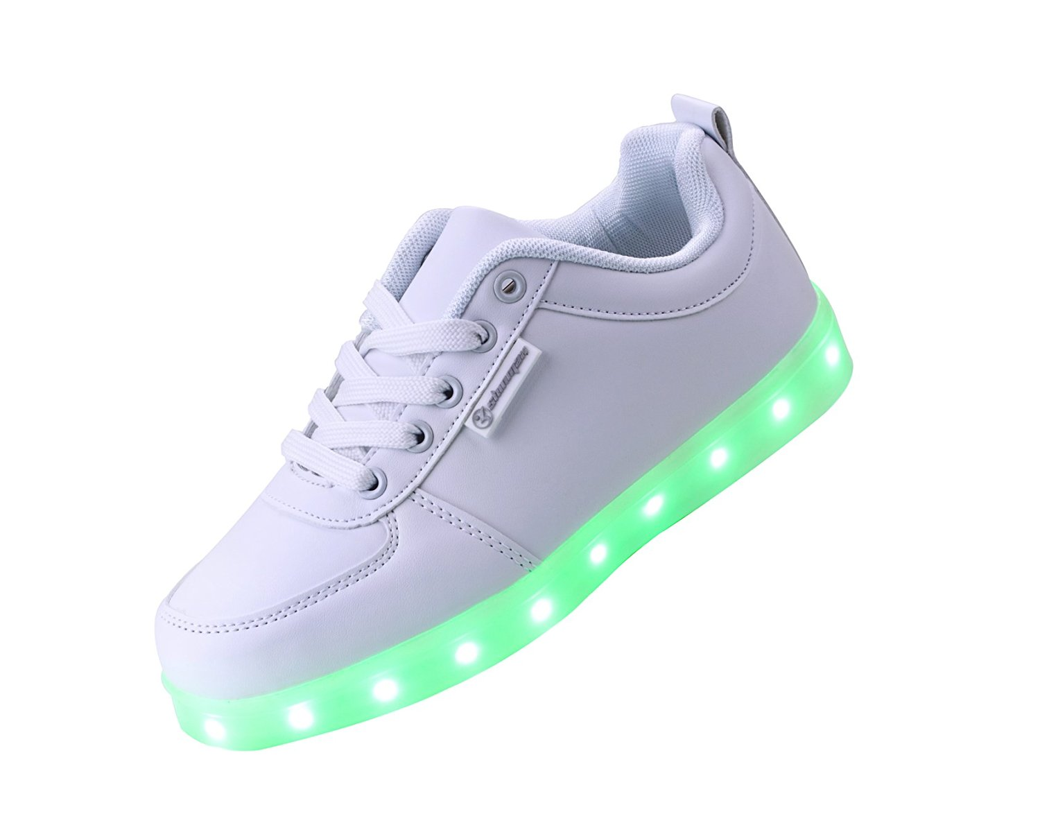 Shinmax LED Shoes LED Sneakers Shoes Adult Series 7 Colors LED Shoes USB Rechargable Light Up Shoes Flashing Sneakers of Unisex Men and Women for Valentine's Day Christmas Halloween with CE Certificate