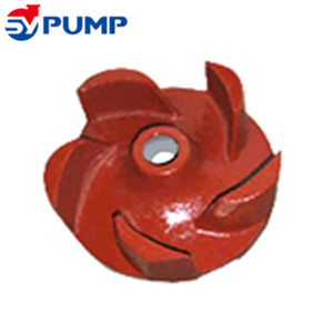 Industrial alloy froth pump open type impeller for foam slurry