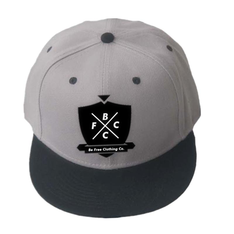 新カスタムラウンドつばステッカーバスケットボールスポーツキャップ海軍勒模倣アクリル素材スナップバックキャップ/帽子