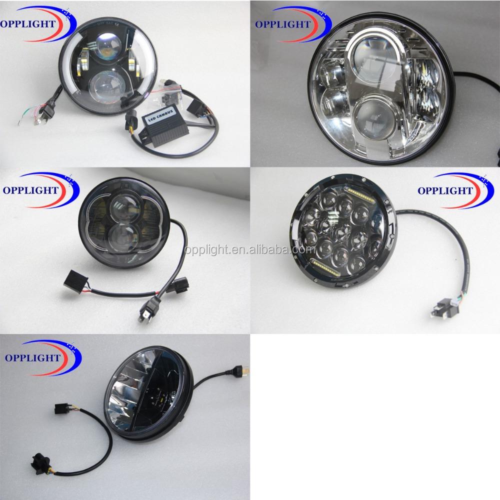 75w 7 Inch Round Led Car Light,Led Auto Sealed Beam,Led Auto Lamp ...