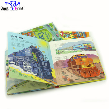 Full color printing children book free design child printing/children books experienced kids