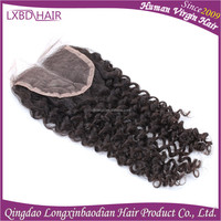 high quality lace wedding hair accessories side part closure peruvian hair lace frontal