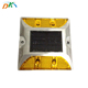 Blinking led light IP68 driveway solar traffic safety reflector road stud wired