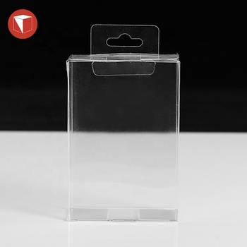 Custom logo recycled clear pvc gift boxes plastic transparent frosted pvc pvc gift box