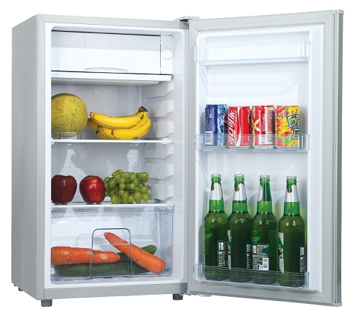 95L 110 v 220 v national portable mini réfrigérateur congélateur utilisé dans la maison