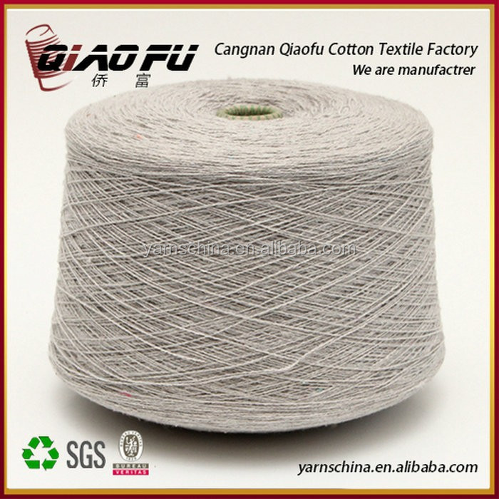 Factory 100% Cotton Hand Knitting OE Blended Organic Cotton Yarn