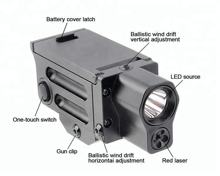 Gtl stroboskop hochleistungstaschenlampe inkl akku und usb