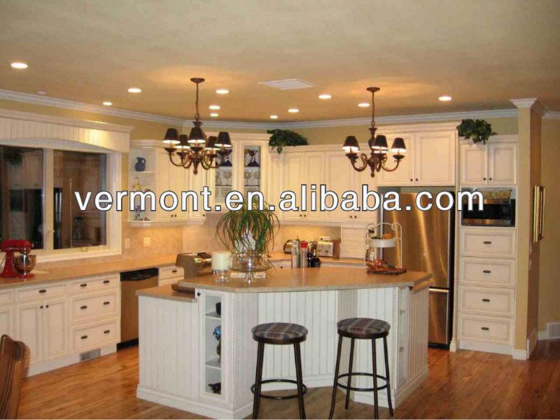 Moderne open keuken design galerij u  vormige huis plannen ...