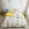 100% cotton 4pcs printed kids bedding set cartoon design bed sheet set