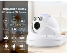 Mini HD 960P indoor onvif network 4x zoom 1.3MP WIFI surveillance P2P PTZ speed dome camera