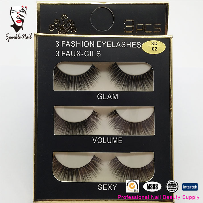 100 Pairs Crown Lashes Private Label 3d Mink Eyelashes Lash Packaging Eyelash Vendor Fake Eyelashes Ample Supply And Prompt Delivery Beauty & Health