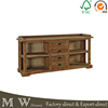 Antique Reclaimed Wood TV Cabinet