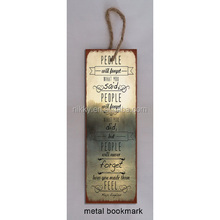European antique bookmark style promotional gift arts and crafts