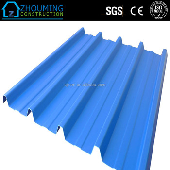 Long Span Color Coated Corrugated Roofing Sheet Metal Rib Type Sheet ...