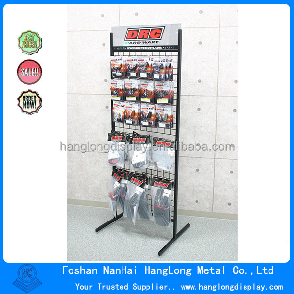 Retail Metal hardware accessory display stand