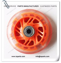 Replacement 90mm x 23mm Orange Scooter Wheels with Bearing