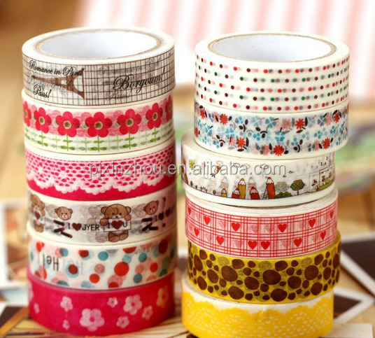 15mm 5m foil adhesive masking tape for decoration