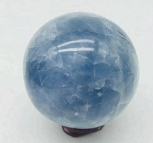 Regalo <span class=keywords><strong>di</strong></span> affari Decorazione Della Casa <span class=keywords><strong>Naturale</strong></span> Amethyst Blu Celestina Sphere Crystal Ball
