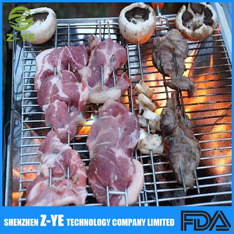 Barbecue Fourches 8 Pcs Double Volets Bbq Brochettes