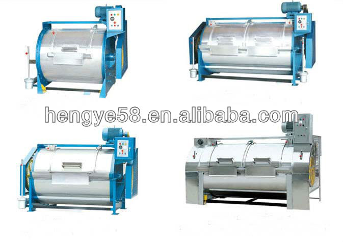 Heavy duty horizontal industrial washing machine(15KG-300KG)
