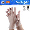 CE ISO Approved Disposable Vinyl Gloves with Powder and Powder Free
