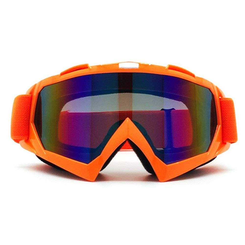 Motorcycle Bike Ski Goggles Cycling Off road Goggles Windproof UV 400 Protection Lens Bendable OTG Frame Winter Sport Outdoors Adult Motocross Goggles Jiele Motocross Goggles dustproof