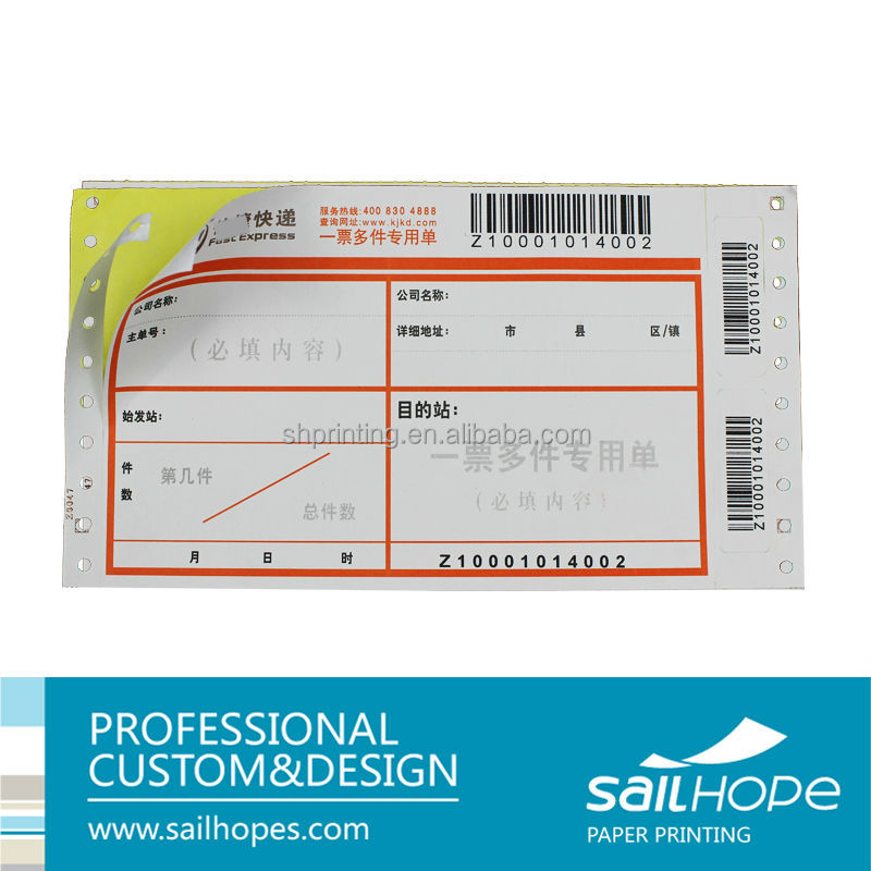 China Personalized Air Consignment Note Printing Thermal Paper  Buy