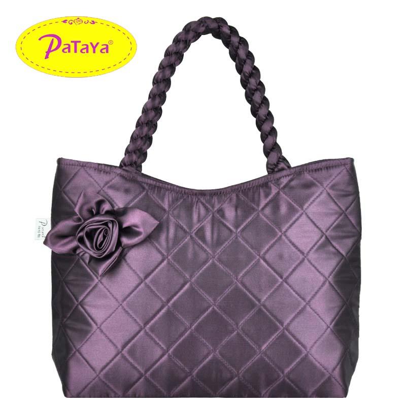 Get Quotations · 2013 pataya bangkok bag gentlewomen bow one shoulder  women s naraya handbag mircofabric bag a4d983183c8e4