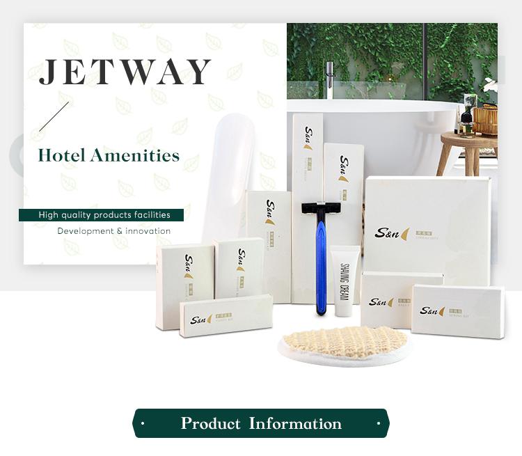 Manufacturer supplies biodegradable custom list of hotel amenities